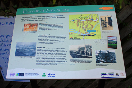 Information Board at Wolsingham