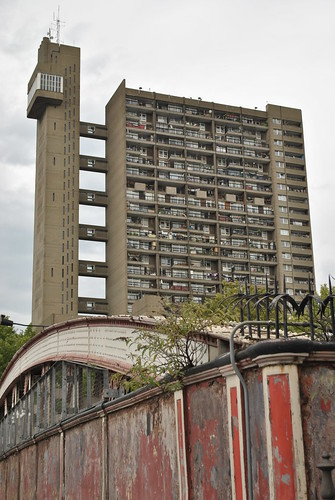 Trellick Tower, North Kensington, London.  Could we see developments like this in the countryside?