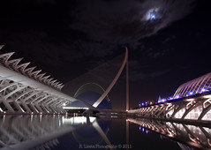 The city of arts and science in Valencia, Spain (Rafael Llesta) Tags: valencia spain comunidad valenciana flickraward canoneos60d eos60d