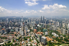 Kuala Lumpur (Firdaus Mahadi) Tags: city cloud building tower clouds village aerialview malaysia kualalumpur kampung awan kl dri metropolitan klcc kltower  uwa bandar menarakl dynamicrangeincrease kampungbaru ultrawideangle bangunan kotaraya 3exposures bandaraya kualalumpurcitycentre tokina1116f28 firdausmahadi firdaus