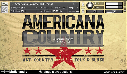 Americana Country - Demo Window