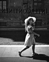 donna (.brianday) Tags: street italy woman rome roma photography donna intercontinental lazio
