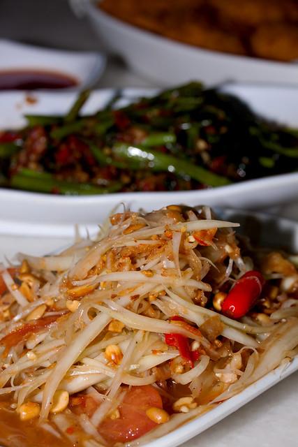 Papaya Salad Thai Style @ $5
