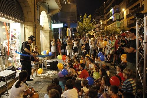 Jornada nocturna del comercio en Getxo