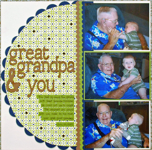 Great Grandpa & You