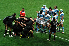 Argentina 9 - 13 England (geoftheref) Tags: world new england cup argentina rugby stadium 9 september zealand otago dunedin 13 aotearoa 2011 geoftheref yahoo:yourpictures=rugbyfans