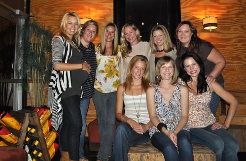Bradie's Bday Dinner with BFFs 2011
