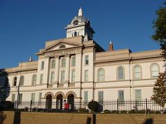 Cleburne County Court House---Heflin, Al. (bamaboy1941) Tags: courthouse archway alabamacountycourthouses uscountycourthouses heflinal al