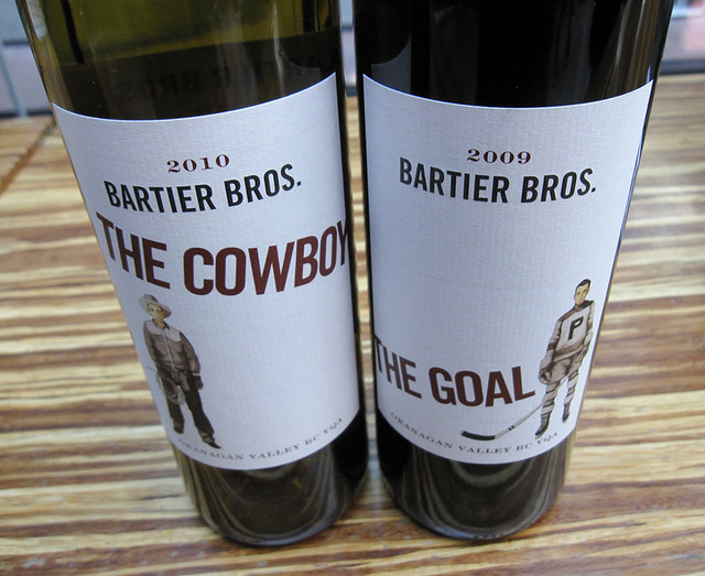 Bartier Bros wines