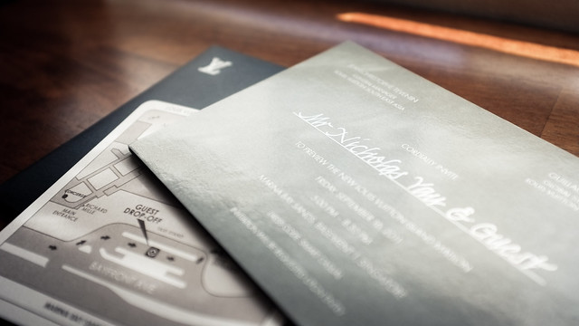 Louis Vuitton Island Maison invitation