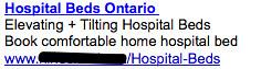 Hospital Beds - Ad #2