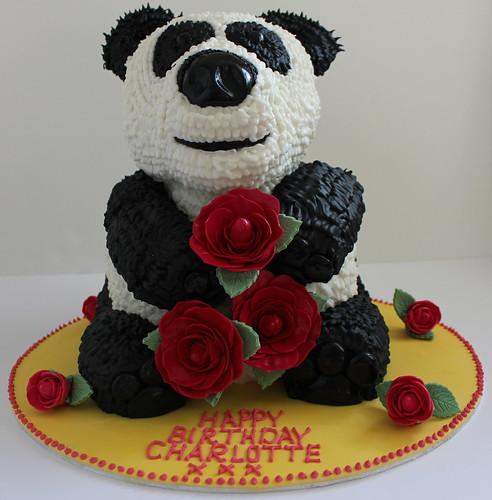 Giant Panda Cake. by Pauls Creative Cakes
