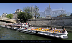 Beloved Ghost of Notre Dame (LeWaggis) Tags: paris cathedral ghost wide notredame tokina phantom notre dame geist cathedrale fantome bateauxmouches streched mateauxbouches