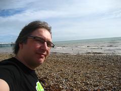 On Brighton beach