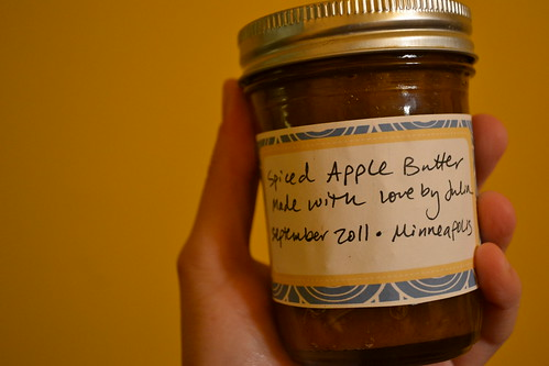 spiced apple butter
