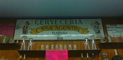 Zaragoza | Casa Agustín | Cartel
