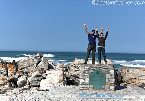 Cape l'Agulhas - southernmost point in Africa!