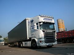Scania R500 V8 - Bogas (tgx_slayer) Tags: blue white portugal truck volvo eagle sweden michelin v8 scania hella r500 bogas cimpor