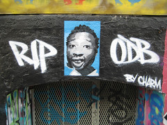 RIP ODB (TheParadigmShift) Tags: graffiti stencil 5 rip charm tribute piece odb pointz