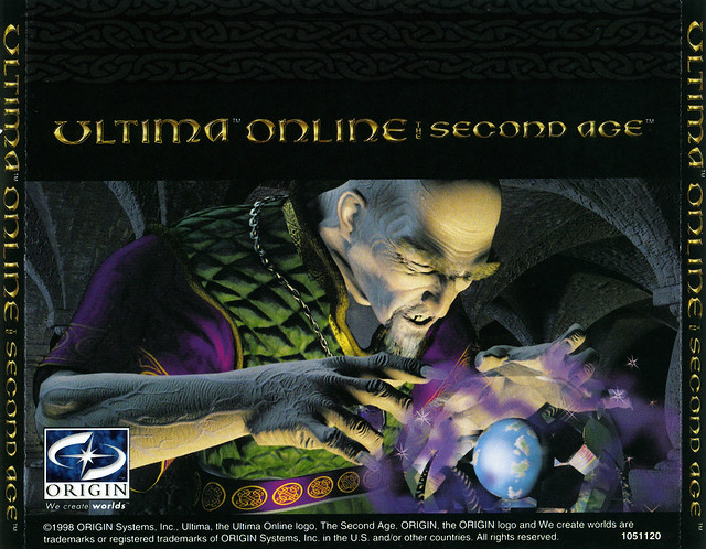 Ultima Online: The Second Age - CD Insert