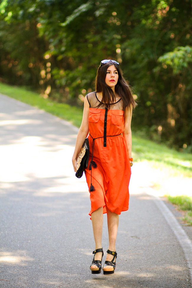 Sheer Dress, Christian Dior sunglasses, Balenciaga sandals, Marc Jacobs gold watch, Nixon watch, Fashion Outfit, Gucci Spring 2011 Tassel Dress