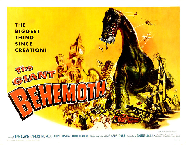 Albert Kallis - The Giant Behemoth (Allied Artists, 1959) Half Sheet