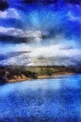 Blue Sky (rare!)
