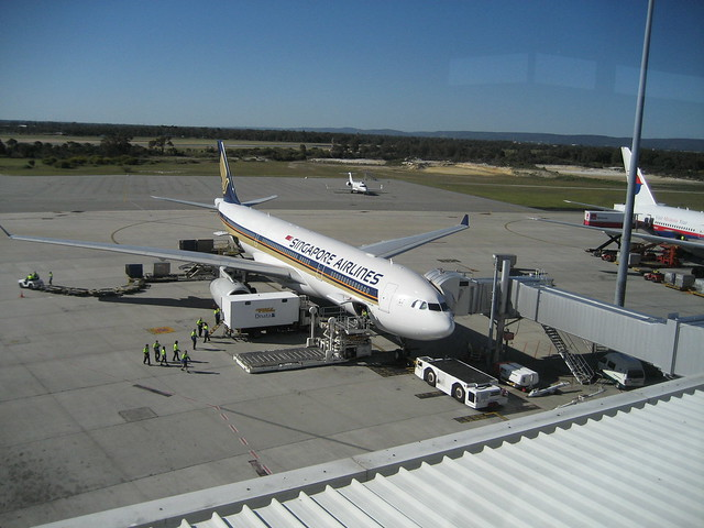パース国際空港