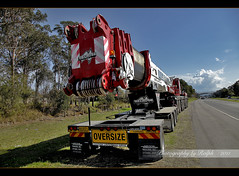 The Beast (ralphb58.) Tags: road new wales truck crane south australia melrose nsw beast thebeast oversize narellan 500ton narellanroad