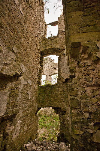 Old Place Manor House ruins, Llantwit Major