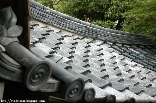 Tenryuji 天龍寺 - Roof Tiles