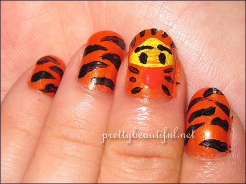 Tiger stripes with Tigger