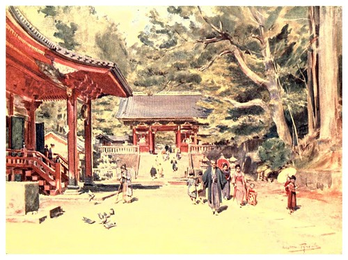 016- El santuario de Nikko-Japan & the Japanese 1910- Walter Tyndale
