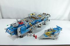 LEGO Starship (bill.d) Tags: exterior lego michigan unitedstatesofamerica sciencefiction spaceship eos60d