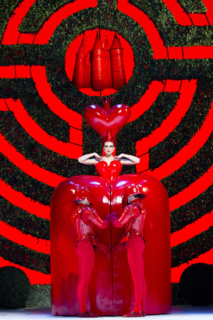 "Zenaida Yanowsky as the Red Queen in Christopher Wheeldon's Alice's Adventures in Wonderland. The Royal Ballet 2010/11 season. <a href=""http://www.roh.org.uk/productions/alices-adventures-in-wonderland-by-christopher-wheeldon"" rel=""nofollow"">www.roh.org.uk/productions/alices-adventures-in-wonderlan...</a>"