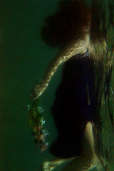 "The light is calling. (Iria Bignami ""ByNilla"") Tags: flowers flores beach underwater puertorico playa redhead sanjuan pelirroja escambron"