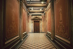 (Sameli) Tags: building architecture suomi finland helsinki interior corridor hallway national archives finnish 1890