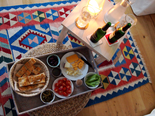 picnic at home