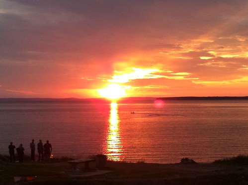 Conception Bay sunset