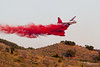 """A Lockheed P2V-5F Neptune drops fire retardant """"mud"""" in an attempt to bring a fire under control near Chinese Peak (Pocatello, Idaho). Over 1,000 acres have burned thus far with one home lost. (Cygnus~X1 - Visions by Sorenson) Tags: summer usa canon airplane fire eos unitedstates aircraft smoke dry august idaho explore 7d lockheed neptune firefighters twinengine wildfire pocatello 2011 fireretardant south5th blackcanyonroad p2v p2v5f bartonroad bannockcounty chinesepeak craigsorenson visionsbysorenson driveinfire ef70200mmf28lisusm20xextenderii lockheedp2v5fneptune n96924"""