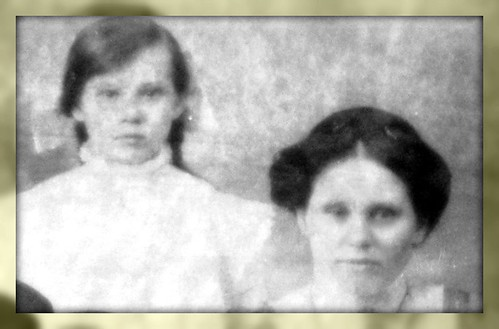 Helen and Mary Beveridge - mother and daughter
