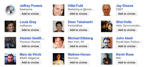12 guys in robert scoble's circles