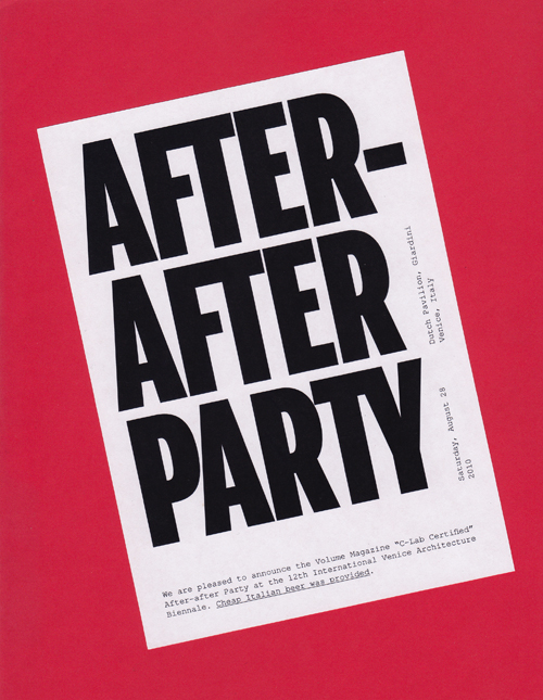 after after party little and often