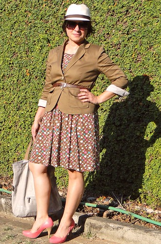 Vestido e casaqueto