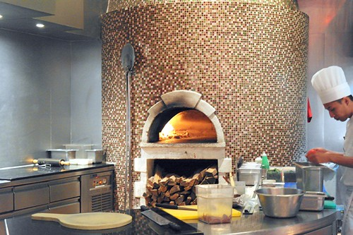 prego westin KL - wood fire pizzas
