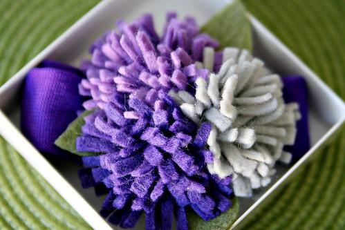Войлок Цветочный головная повязка из 15