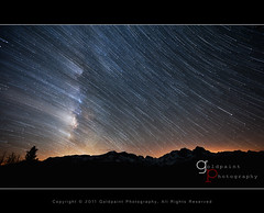 Beyond the Invisible (Goldpaint Photography) Tags: snow mountains stars trails sierra pacificcresttrail nightsky sierranevada startrails anseladamswilderness starrynight milkyway johnmuirtrail agnewmeadows goldpaintphotography