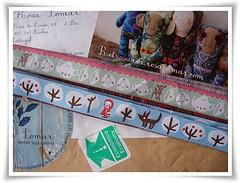 Gregas novas (Feltro em Casa by Mal) Tags: ribbon gregas gales