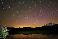 I ALMOST saw the Northern Lights (Starlisa) Tags: stars washington lowlight aurora mtadams troutlake startrails mountadams starstlaurora3980