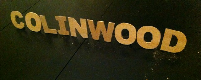 COLINWOOD Sign by Tom Cauchois